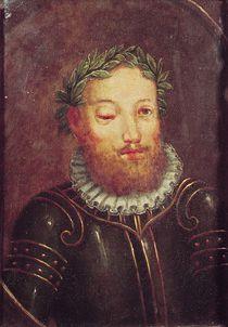 Portrait of Luis Vaz de Camoes 16th-17th century by Portuguese School
