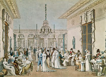 The Cafe Frascati in 1807 von Philibert Louis Debucourt
