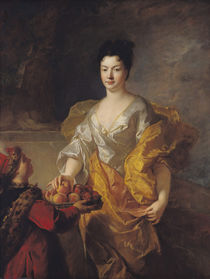 Anne-Marie de Bosmelet, Duchess of La Force by Francois de Troy