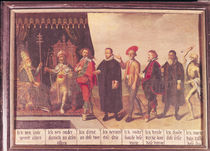 The Pope and Death by Flemish School