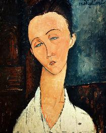 Portrait of Lunia Czechowska by Amedeo Modigliani