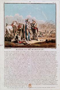 Episode of the Battle of Marignan von Desfontaines