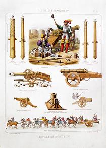 French artillery between 1500-50 von Johannes Moltzheim