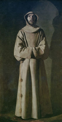St. Francis 1645-64 von Francisco de Zurbaran