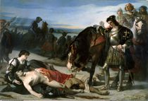 The Two Leaders, 1866 by Jose Casado del Alisal