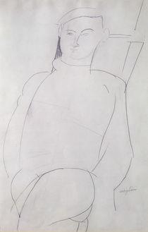 Jacques Lipchitz c.1917 by Amedeo Modigliani