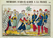 Submission of Abd el-Kader to Henri d'Orleans Duke of Aumale von French School