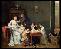 Portrait of a Family, 1800-01 by Joseph Marcellin Combette