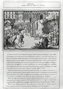 The Execution of Pere Jean Guigard 1595 von French School