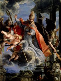 The Triumph of St. Augustine 1664 by Claudio Coello