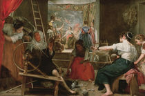 The Spinners, or The Fable of Arachne von Diego Rodriguez de Silva y Velazquez