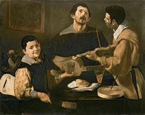 Three Musicians, 1618 von Diego Rodriguez de Silva y Velazquez