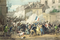 Defence of a Barricade, 29th July 1830 von French School