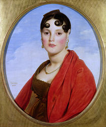 Portrait of Madame Aymon, or La Belle Zelie von Jean Auguste Dominique Ingres
