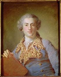 Portrait of Jean-Georges Noverre by Jean-Baptiste Perronneau