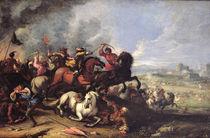 Battle Scene by Jacques Courtois