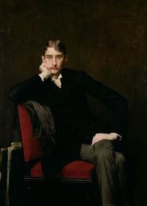 Portrait of M. Fitzgerald, 1889 von Jules Joseph Lefebvre