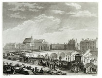 The Triumph of Voltaire, 11th July 1791 von Jean Louis, II Prieur