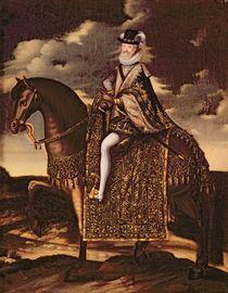 Equestrian Portrait of Henri IV by French School