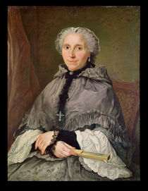 Portrait of a Woman in Grey von Jacques Andre Joseph Camelot Aved