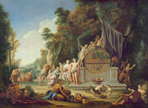 Fete Galante in Honour of Bacchus von Jean Jacques Spoede