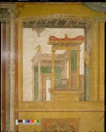 Fantastical architecture, from the Casa dei Vettii c.50-79 AD by Roman
