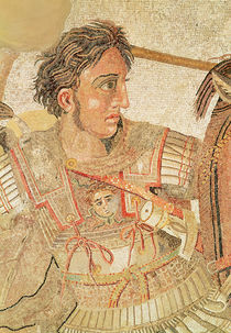 Alexander the Great from 'The Alexander Mosaic' by Roman