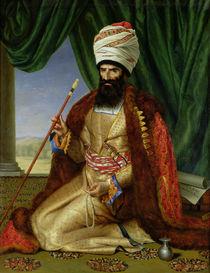 Portrait of Asker-Khan, Ambassador of Persia by Cesarine Davin