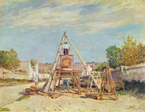The Woodcutters, 1876 by Alfred Sisley