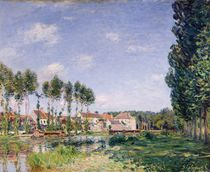 Banks of the Loing, Moret, 1892 von Alfred Sisley