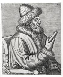 Ivan IV the Terrible von Russian School