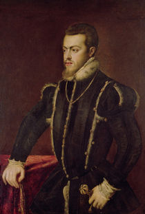 Portrait of Philip II of Spain by Titian