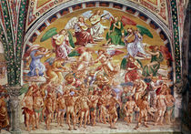The Calling of the Chosen to Heaven by Luca Signorelli