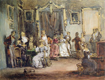 An Evening at the House of Madame X by Henri Bonaventure Monnier