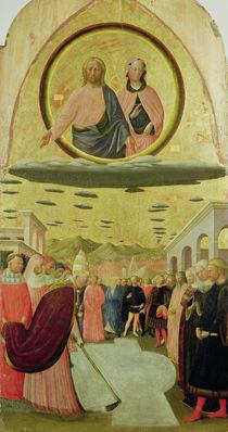 Pope Liberius Founding the Basilica of Santa Maria della Neve by Tommaso Masolino da Panicale