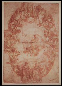 Study for the ceiling of the Casa de Pilatos by Francisco Pacheco