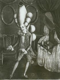 Pantheon Macaroni, 1773 von English School
