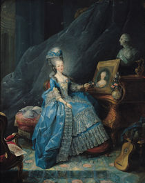 Marie-Therese de Savoie 1775 by Jean-Baptiste Andre Gautier D'Agoty