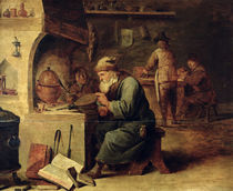 An Alchemist by David the Younger Teniers