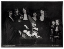 The Anatomy Lesson of Professor Frederik Ruysch c.1683 by Jan van Neck