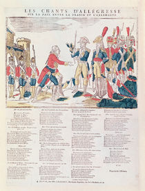 Songs of Rejoicing for the Peace between France and Germany by French School
