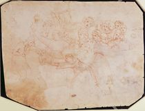 Study for the Massacre of the Innocents by Michelangelo Buonarroti