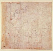 Study of a Head, 1525-26 by Michelangelo Buonarroti