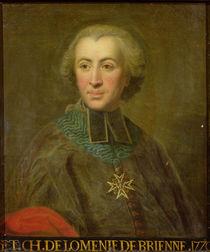 Cardinal Etienne-Charles de Lomenie de Brienne von French School
