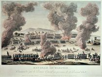 The Battle of Marengo, 25 Priarial An VIII after 1800 von Tessier