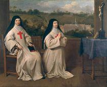 Two Nuns von Philippe de Champaigne