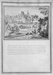 Battle at Porte Sainte-Antoine von French School