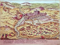 The Siege of St. Quentin, 27th July 1557 by Franz Hogenberg