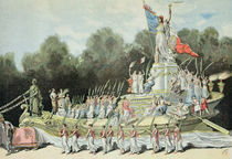 Chariot of the Triumph of the Republic at the National Festival von Henri Meyer