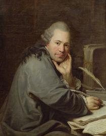 Portrait of a Writer, 1772 von Dominique Doncre